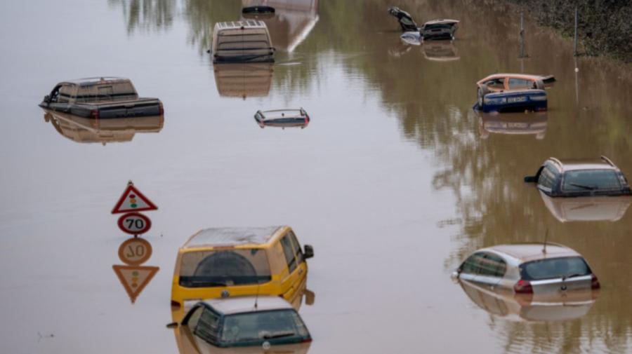 Cauza inundațiilor din Europa? Activitatea umană a mărit de sute de ori probabilitatea unor fenomene meteo extreme