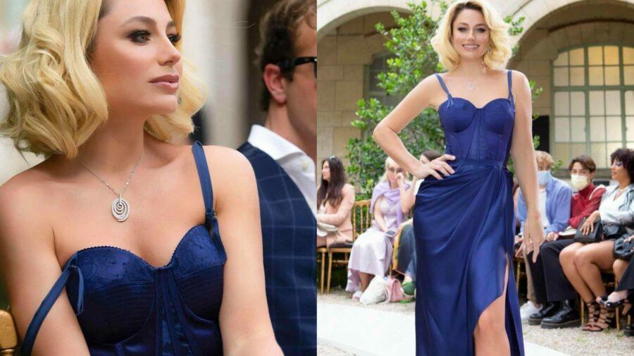 """VIDEO """"M-am simțit ca o prințesă"""", spune Gordienko după ce a defilat în rochia unui designer renumit! A fost la Paris"""