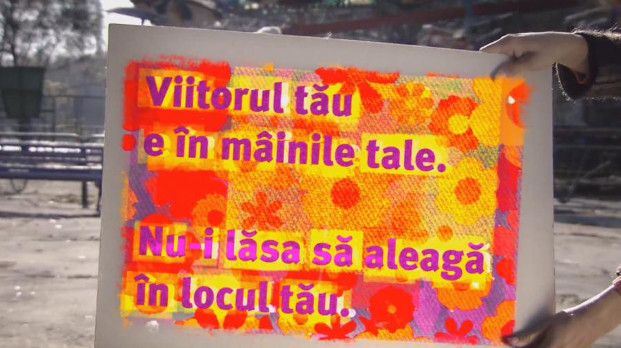 """VIDEO Numărătoarea inversă a început! Doar 3 zile până la alegerile parlamentare anticipate! """"Contăm, deci votăm!"""""""