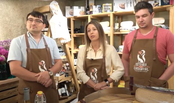 VIDEO Nu puteau pleca peste hotare, așa că au adus deliciile la noi, la Istorii cu Cașcaval: Toată vina o poartă COVID