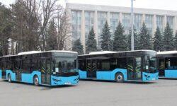 VIDEO Primele 5 autobuze noi – ajunse la Chișinău