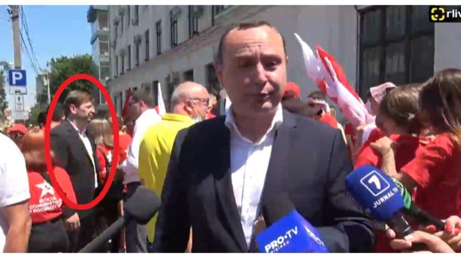 FOTO 3 iepuri dintr-o lovitură pentru pretorul susținut de PSRM, Vlad Melnic! Unde a fost surprins funcționarul