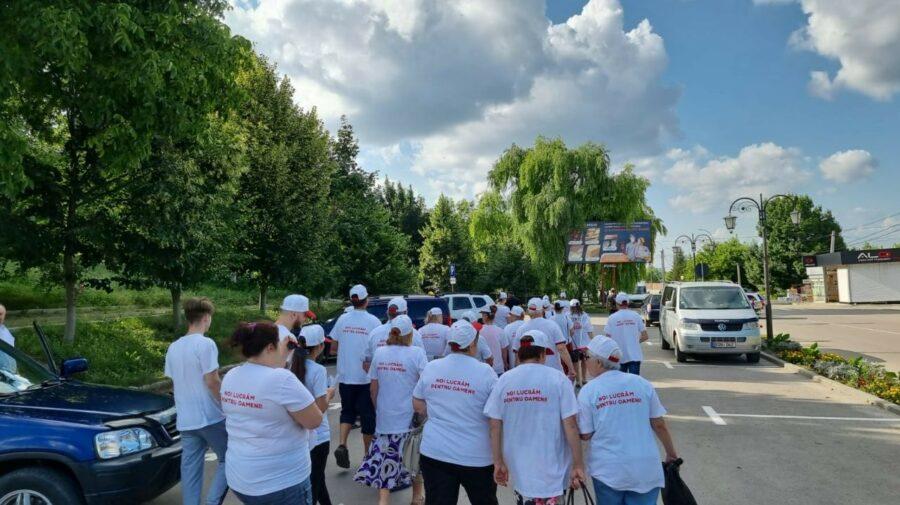 """FOTO Mii de oameni au participat la marșuri de mobilizare în toată țara și au îndemnat la vot pentru Partidul """"ȘOR"""""""