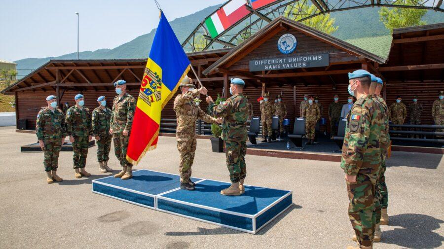 VIDEO Misiune îndeplinită! Pacificatorii moldoveni, aflați în misiune în Kosovo, revin acasă