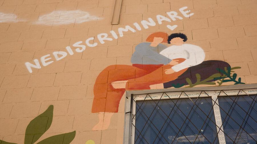 FOTO Mural dedicat egalității de gen, INAUGURAT la Chișinău. Cui aparține inițiativa