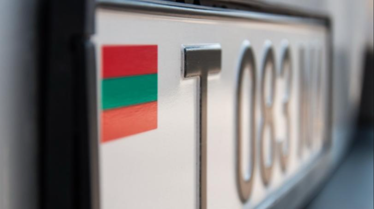 Mașinile cu numere transnistrene, interzise să circule în afara Republicii Moldova din 1 septembrie