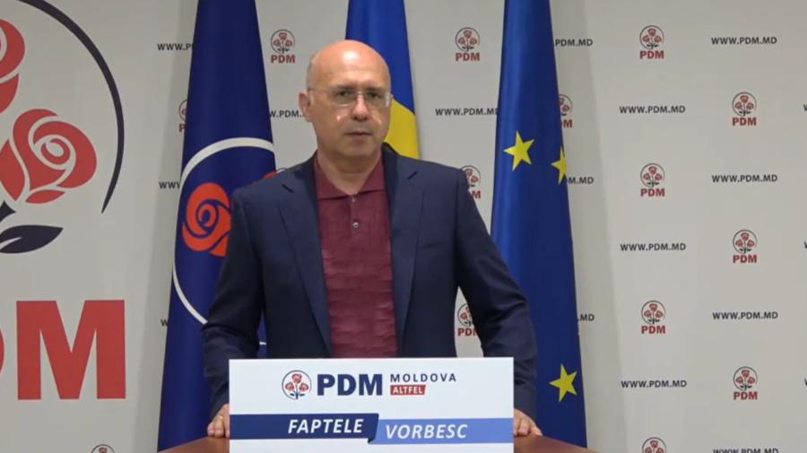 """VIDEO """"Sunt satisfăcut de modul cum PDM a desfășurat…"""", a declarat la final de campanie, Pavel Filip"""