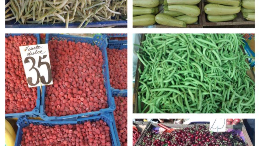 FOTO După orice gust și buzunar! Cât costă porumbul dulce la Piața Centrală? În vânzare a apărut și pepenele galben