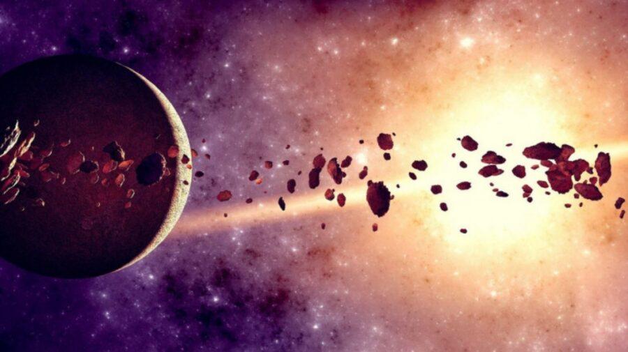 Două roci roşiatice uriaşe, identificate de oamenii de ştiinţă în centura de asteroizi. Din ce materie sunt?