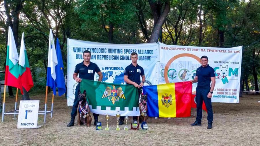 FOTO VICTORIE pentru echipele canine ale IGPF. Au revenit acasă cu ȘASE cupe și ZECE medalii