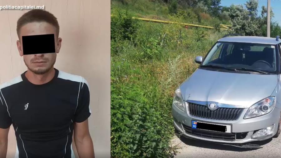 VIDEO A vrut să se plimbe cu mașina furată, dar oamenii legii vor altceva. Tânăr din Capitală, cercetat pentru furt