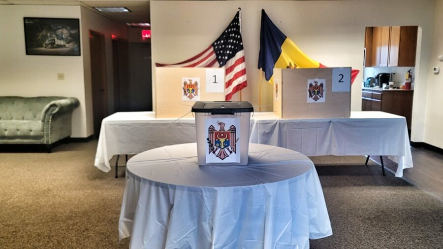 VIDEO Cum arată secția de votare din Seattle! Moldovenii din Washington sunt îndemnați să iasă la vot