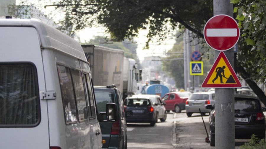 TRAFIC suspendat în Capitală în legătură cu lucrările de RENOVARE a asfaltului. Ce STRĂZI trebuie OCOLITE