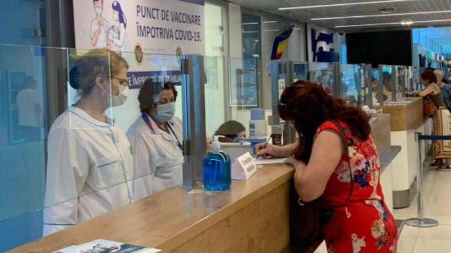 A fost inaugurat un nou punct de vaccinare, chiar în incinta Aeroportului Chișinău
