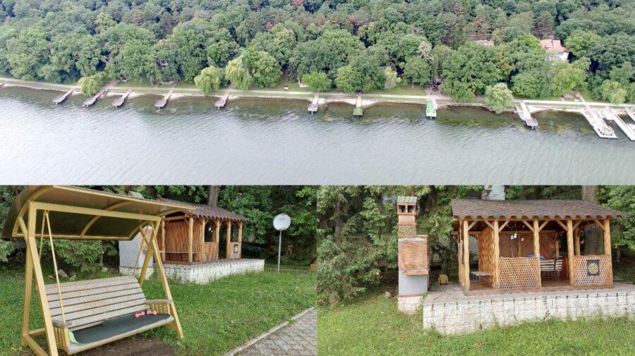 """Patru deținuți """"exploatați"""" de Ministerul Justiției! Au făcut curățenie și instalat un foișor la vila de la Holercani"""