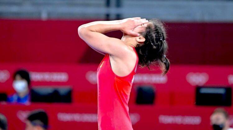 "FOTO Moldoveanca Anastasia Nichita, despre JO Tokyo: ""10 secunde m-au despărțit de lupta pentru medalia olimpică"""