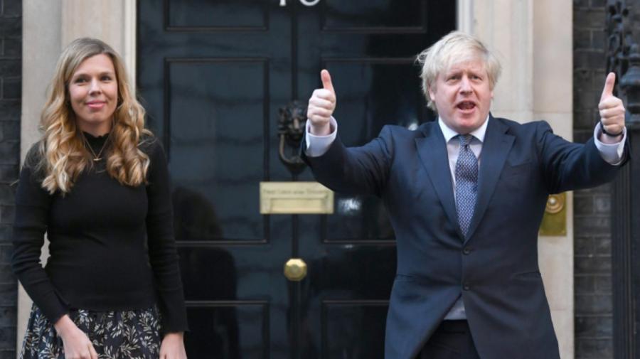 Boris Johnson așteaptă încă un copil! Soția sa, Carrie, este din nou însărcinată