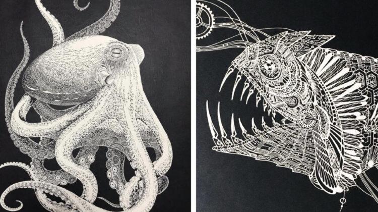 Ce poți face cu o hârtie și un cuțit? ȘAPTE capodopere vizuale, create de o artistă din Japonia