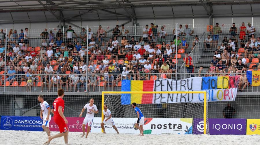 FOTO În premieră, Moldova s-a calificat în finala Campionatului European de fotbal pe plajă
