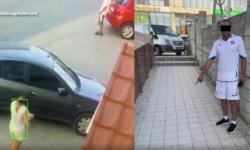 """VIDEO Hoț beat criță, încătușat de poliție. A """"atacat"""" o femeie pe o stradă din Chișinău"""