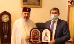 După scandalul cu Mitropolitul Vladimir, Grosu s-a văzut cu cel al Basarabiei: Ajutați-mă să înțeleg nevoile bisericii