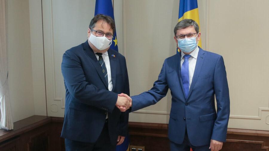 Azi cu Michalko. Igor Grosu i-a făcut unele promisiuni ambasadorului UE la final de mandat