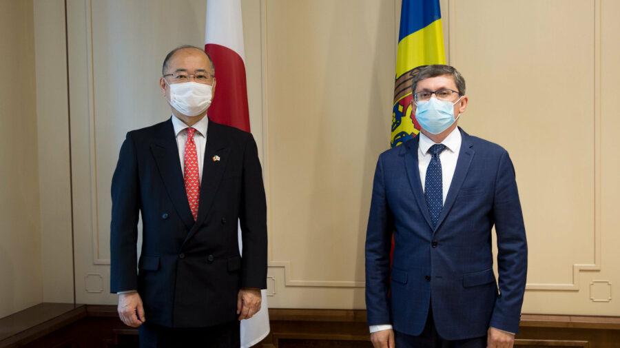 Igor Grosu intră în rol. Continuă întrevederile cu oficiali străini. Azi cu ambasadorul Japoniei