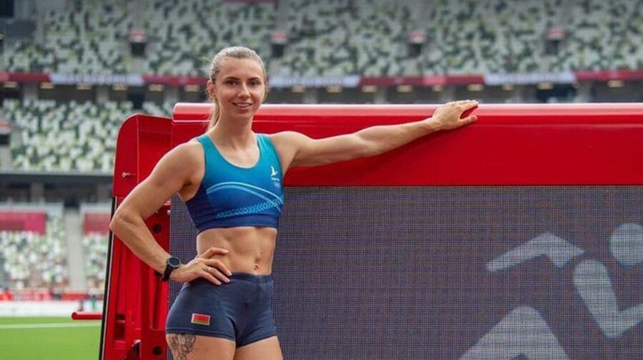 Sportiva Kristina Timanovskaia, victimă a regimului autoritar din Belarus, a cerut azil politic în Polonia