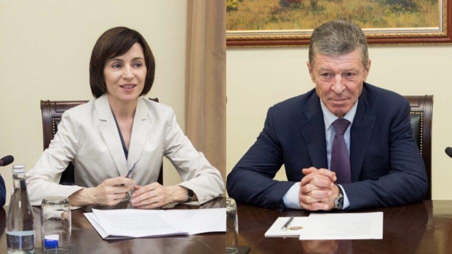 Dmitri Kozak a ajuns la Chișinău. După aterizare s-a dus la Maia Sandu