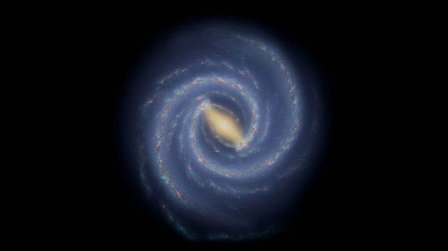 """""""Ca o așchie care iese dintr-o scândură"""". O descoperire NASA ar putea dezvălui informații despre Calea Lactee"""