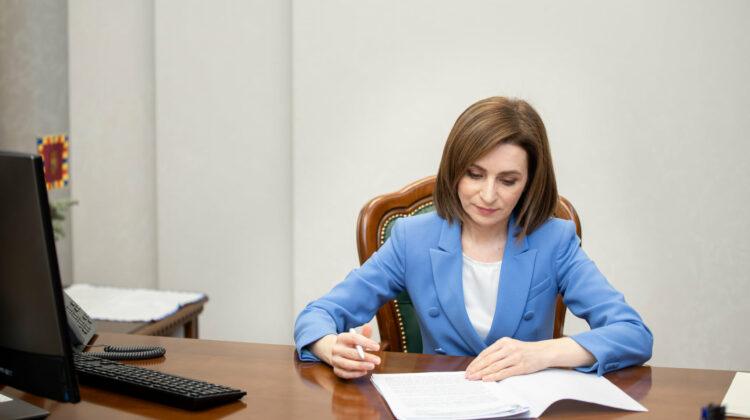 DOC Fără prea multe tergiversări, Sandu a semnat DECRETUL de numire a lui Robu în funcția de procuror general interimar