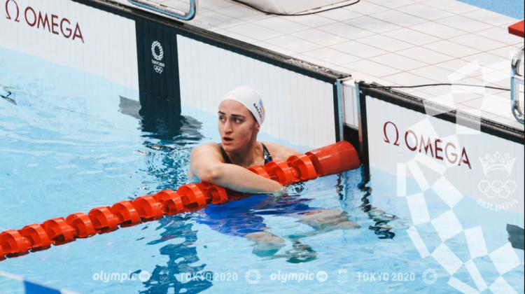 Pentru prima dată în ultimii 25 de ani, o înotătoare din Republica Moldova a evoluat în semifinalele Jocurilor Olimpice