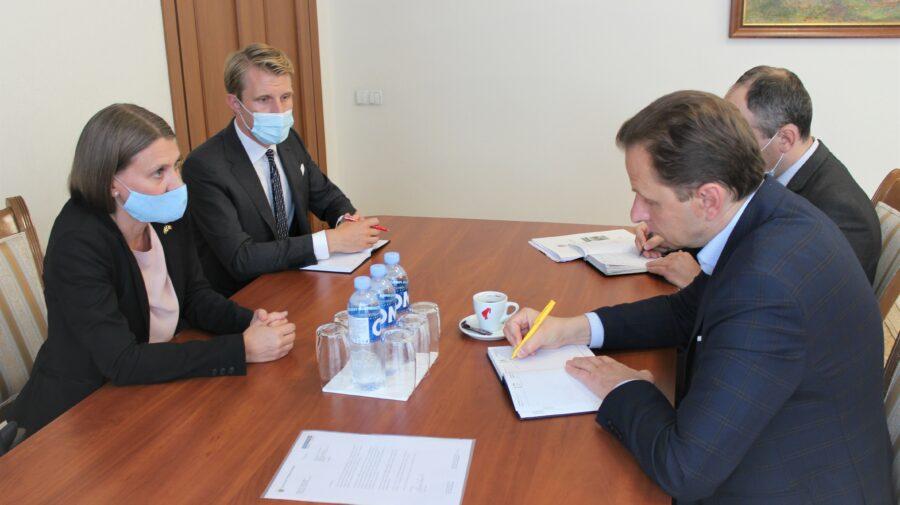Vlad Kulminski și ambasadoarea Suediei, despre negocierile dintre Chișinău și Tiraspol