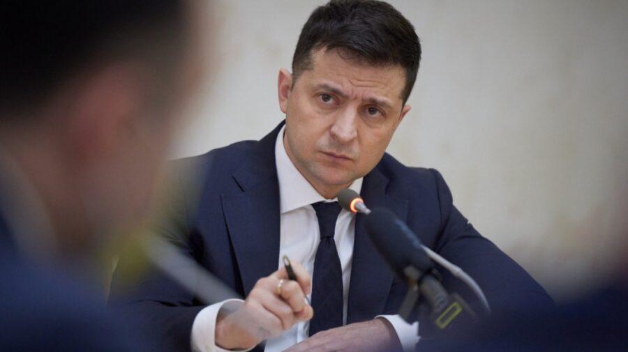 Zelenski a semnat un decret prin care se impun sancțiuni împotriva unor companii rusești, inclusiv portaluri de știri