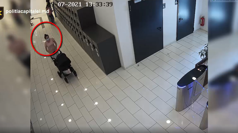VIDEO A furat o geantă dintr-o cameră de schimb și a fugit. Femeia din IMAGINI, căutată de poliție