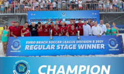 VICTORIE pentru Moldova! A TRIUMFAT în cadrul Campionatului European de fotbal pe plajă