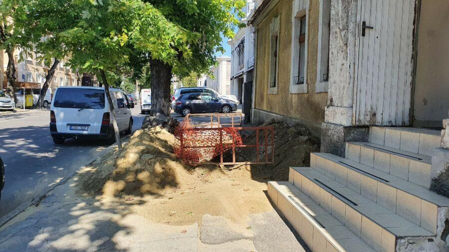 """FOTO Fără săpături """"arheologice"""" în Chișinău! Agenții economici iresponsabili riscă să fie sancționați. De ce?"""