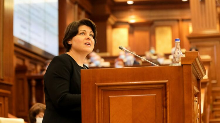 FALS, precizează Gavrilița. Ucraina nu va furniza Republicii Moldova 700 mln de metri cubi de gaz