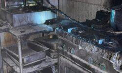 FOTO Incendiu într-un LOCAL din Capitală. Flăcările au mistuit bunuri MATERIALE din interiorul bucătăriei