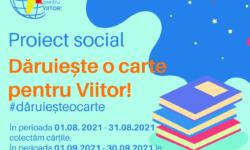 """""""Dăruiește o carte pentru viitor"""" și asigură copiilor suportul EVOLUȚIEI intelectuale"""