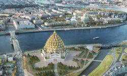 FOTO Biserică cu 320 de cupole și înălțimea de 141 metri sau un centru comercial. Cine va câștiga?
