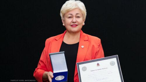Ex-deputată din Moldova – premiată cu medalia de argint a Guvernatorului Locotenent din Quebec