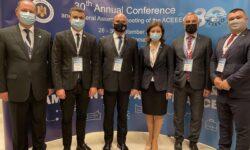 FOTO Moldova va deține președinția ACEEEO. Angelica Caraman a fost aleasă într-o funcție la nivel internațional