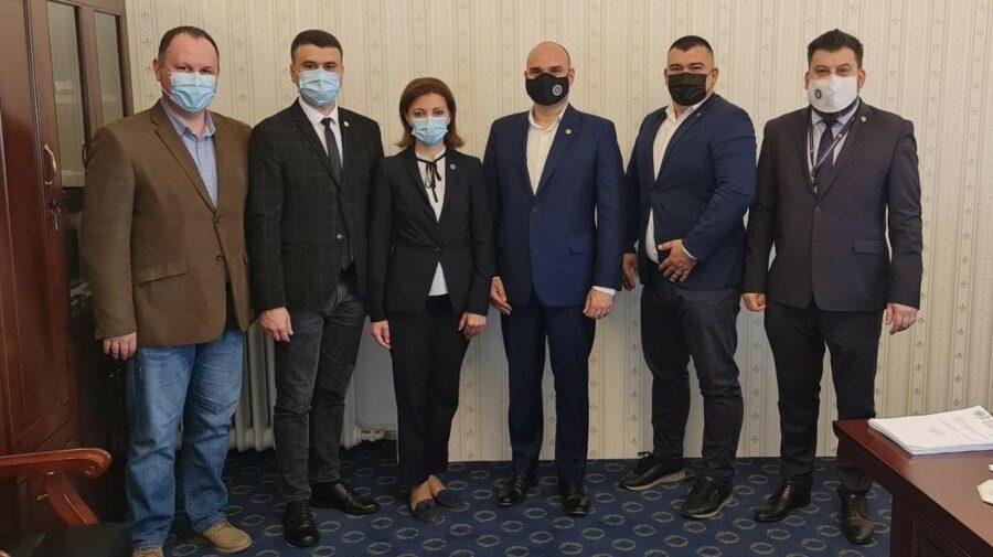 Președinta CEC, în prima vizită oficială la București. S-a întâlnit cu omologul român în cadrul unui eveniment