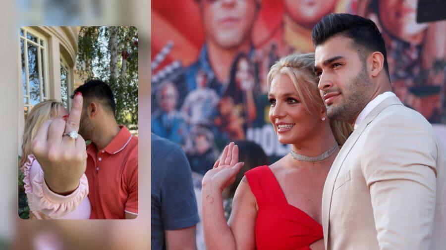 VIDEO Britney Spears, care se plângea că din cauza tutelei nu se poate căsători și avea copii, s-a logodit