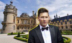 FOTO Messi, ca un rege la Paris! Cum arată castelul de milioane în care a stat și președintele Charles de Gaulle