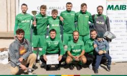 Echipa de fotbal MAIB a câștigat Cupa Anuală de Fotbal Hospice Angelus Moldova