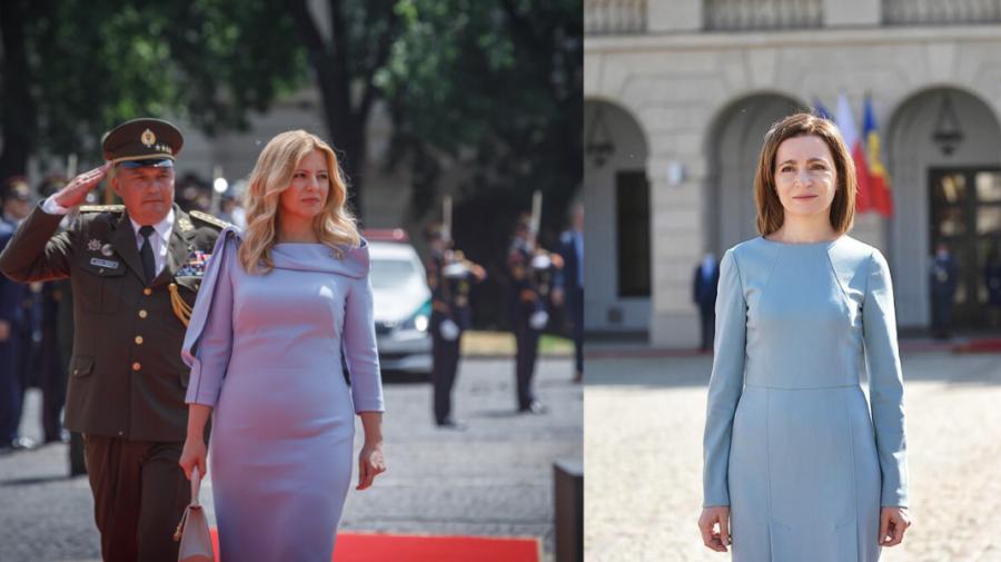 VIDEO Președinta Republicii Moldova, Maia Sandu, se va întâlni cu președinta Republicii Slovace, Zuzana Čaputová