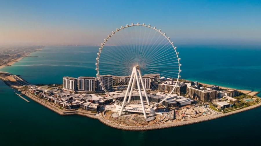 (VIDEO) Cea mai înaltă roată panoramică din lume se va deschide în octombrie! Se află în Dubai și va avea 82 de metri