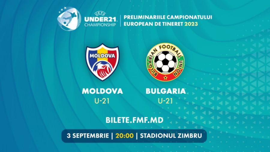 Meciul MOLDOVA – BULGARIA, urmărește în DIRECT, astăzi, la ora 20:00, pe RLIVE TV